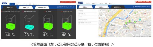 沖縄で通信できるゴミ箱実証実験開始
